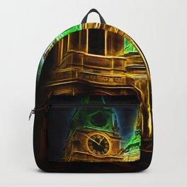 Prague Neon Lights  Backpack
