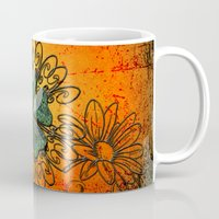 decorative Mugs featuring Decorative design by nicky2342