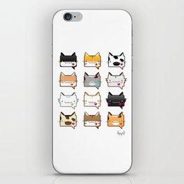 Convo Cats! iPhone Skin