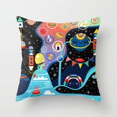 Dreamer's Peak Throw Pillow