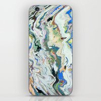 geology iPhone & iPod Skins featuring Fluctuating Geology by Christina Stavers