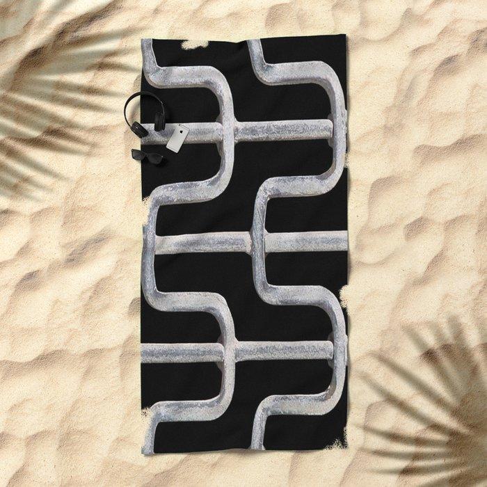 blacksmithing Beach Towel