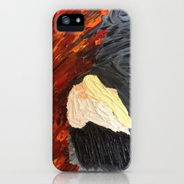 Painted Wrath Art (7 Deadly Sins and 7 Contrary Virtues) iPhone Case