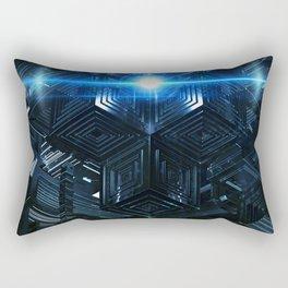 Beam Me Up Scotty Rectangular Pillow