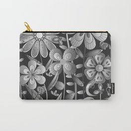 Petty Flowers Pattern 4 Carry-All Pouch