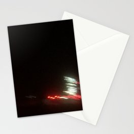 Abstracte Light Art in the Dark 12 Stationery Cards