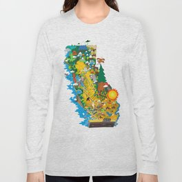 California Long Sleeve T-shirt