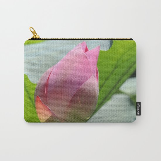 Lotus Bud in West Lake Carry-All Pouch