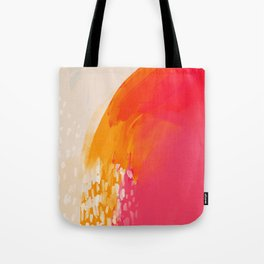 The Bright Abstract Waterfall Tote Bag