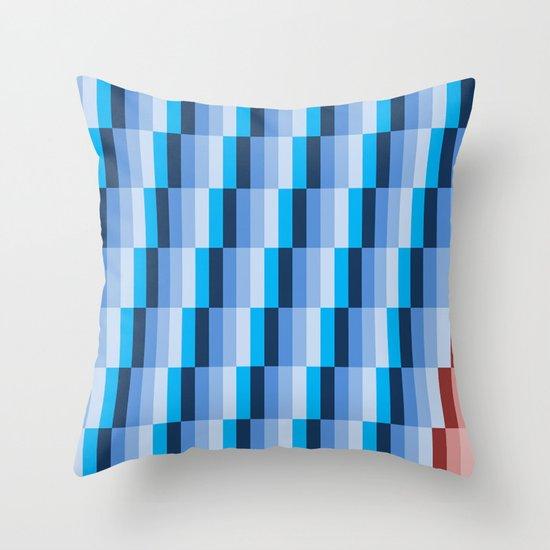 Fuzz Line #1 Throw Pillow