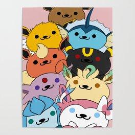 Eevee Atsume Poster