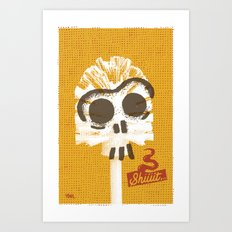 Toilet Brush Art Print