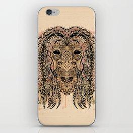 AFGHAN HOUND ZETANGLE iPhone Skin