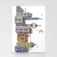 europe Stationery Cards featuring Exploring Europe by Maxine Hughes