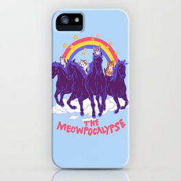 Four Horsemittens Of The Meowpocalypse iPhone Case