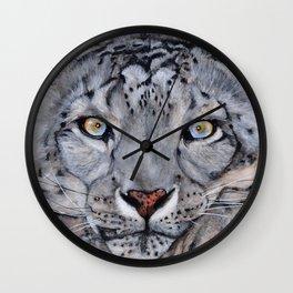 Snowleopard Wall Clock