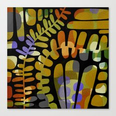 LEAFY MEANDERINGS Canvas Print