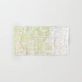 WY Cody 342322 1980 topographic map Hand & Bath Towel