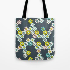 Flower tiles Tote Bag