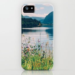 Lake Bohinj in Slovenia, 1 iPhone Case