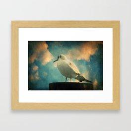 La Mouette Framed Art Print