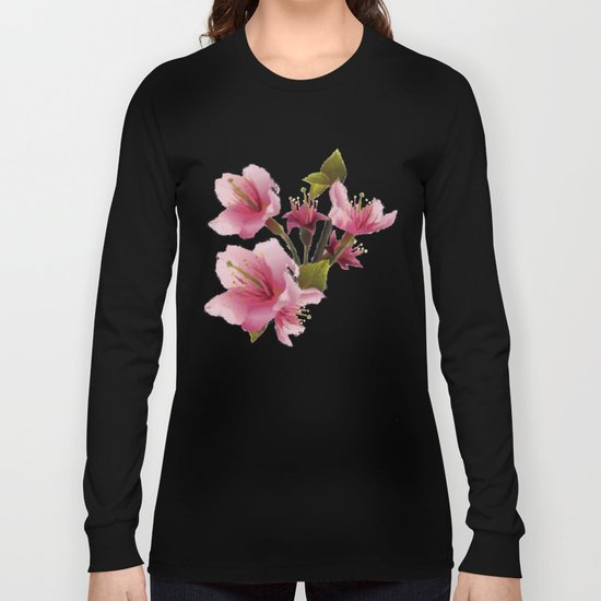 Cherry Blossom - Variation 3 Long Sleeve T-shirt