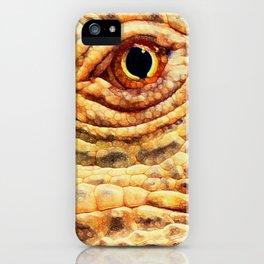 IGUANA ABSTRACT iPhone Case