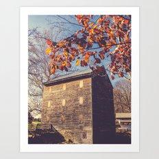 Rock Mill Art Print