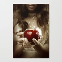 fairy tale Canvas Prints featuring Fairy Tale by Judy Hung