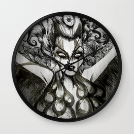 Out Of The Ashes She Raises Wall Clock