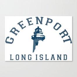 Greenport - Long Island. Canvas Print