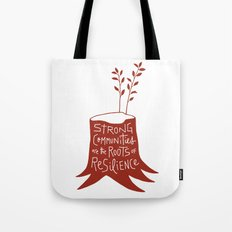 Roots of Resilience Tote Bag
