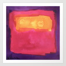 color abstract 7 Art Print