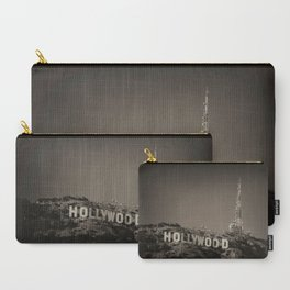 Vintage Hollywood sign Carry-All Pouch