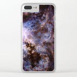 The Tarantula Nebula Clear iPhone Case