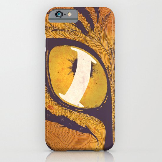 """I"" of the Tiger iPhone & iPod Case"