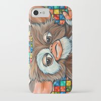 gizmo iPhone & iPod Cases featuring Gizmo  by Portraits on the Periphery