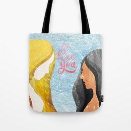 I Love You Lesbians Tote Bag