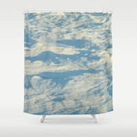 ice Shower Curtains featuring Ice by Platinepearl