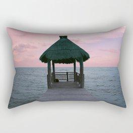 Centered Bungalow Rectangular Pillow