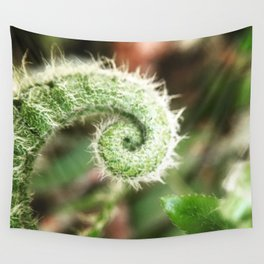 Profile Spring Fern Wall Tapestry