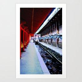 Follow Me (Kyoto, Japan) Art Print
