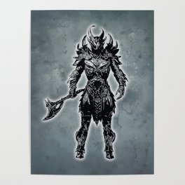 Daedric Warrior Poster