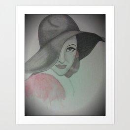 Joan Crawford Art Print