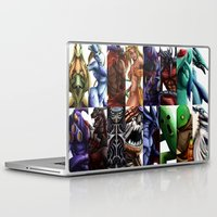 guardians Laptop & iPad Skins featuring Guardians by Lorna Kelleher Art