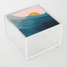 """""""One Wave At A Time"""" Acrylic Box"""