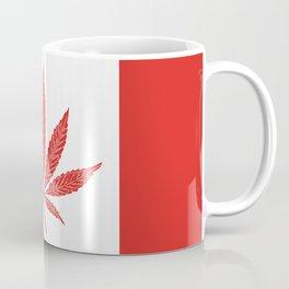 Canada Cannabis Flag Coffee Mug