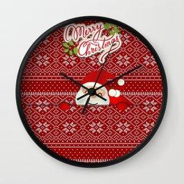 Noel Surprise Hiding Christmas Gift Wall Clock
