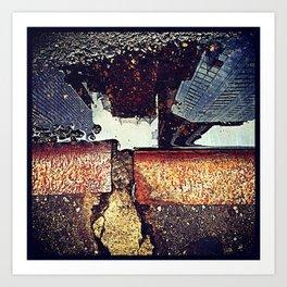 Urbancurb Art Print
