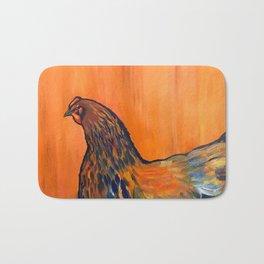 Orange Chicken Bath Mat